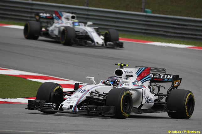 Гран При Малайзии. Гонщики Williams