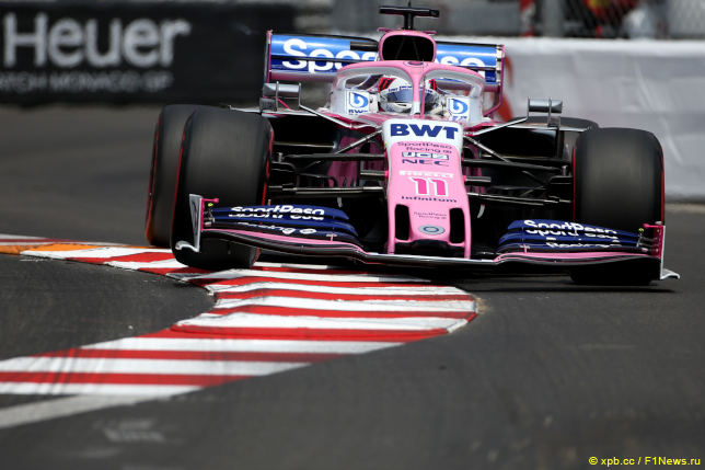 Гран При Монако. Серхио Перес