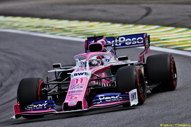 Гран При Бразилии. Серхио Перес