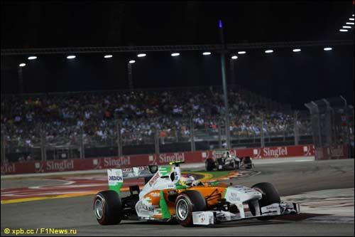 Пол ди Реста на Гран При Сингапура