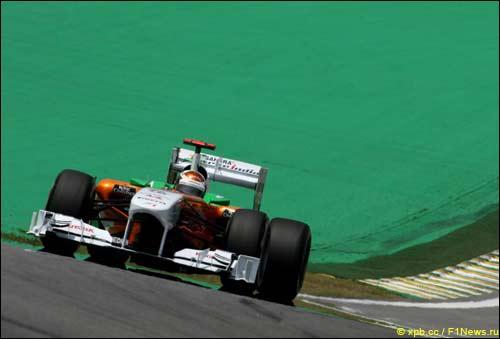 Адриан Сутил на Гран При Бразилии