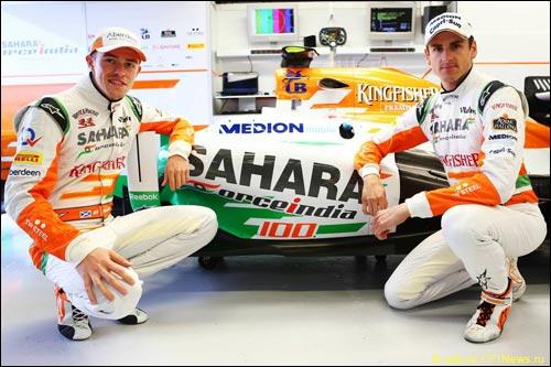 100-я гонка Force India