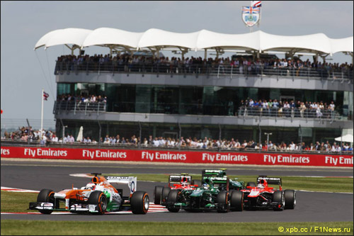 Пол ди Реста на Гран При Великобритании