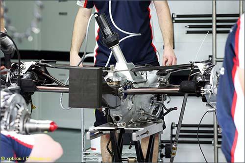 Коробка передач Williams FW35 2013 года