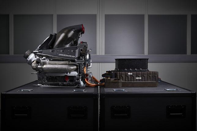 Силовая установка Mercedes