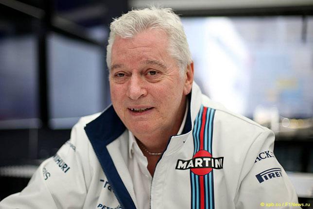 Пэт Симондс, технический директор Williams