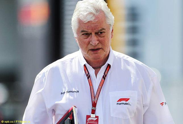 Пэт Симондс, технический директор Формулы 1