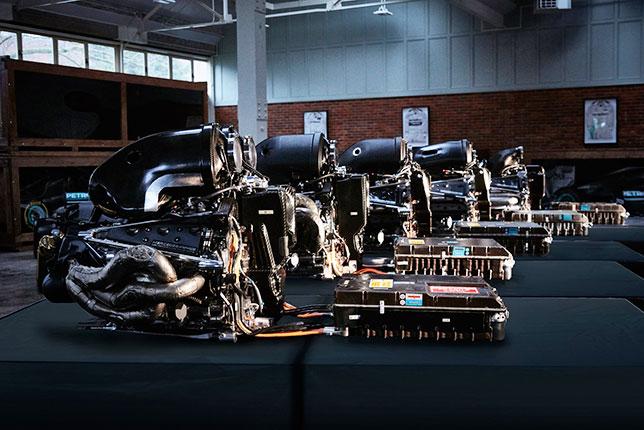 Гибридные силовые установки Mercedes