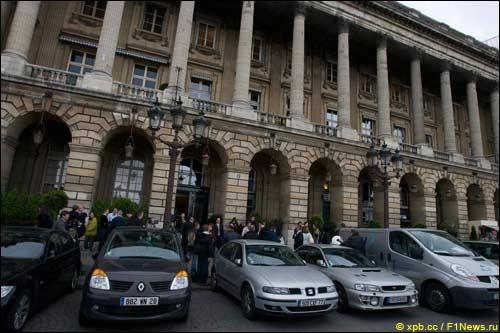 Парижская штаб-квартира FIA на площади Согласия