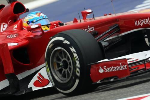 В современной Формуле 1 правят бал тринадцатидюймовые колеса