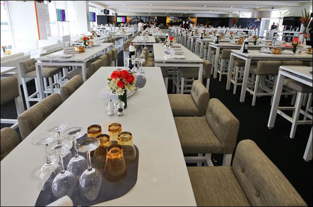 Ложа Force India в паддок-клубе