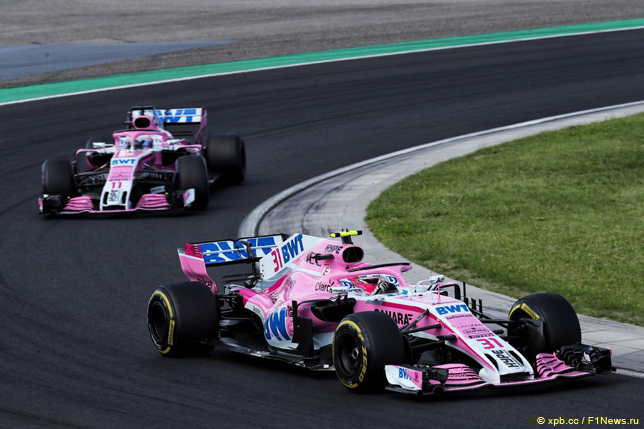 Гран При Венгрии. Гонщики Force India