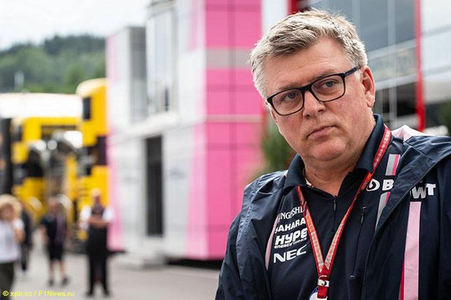 Отмар Сафнауэр, руководитель команды Racing Point Force India