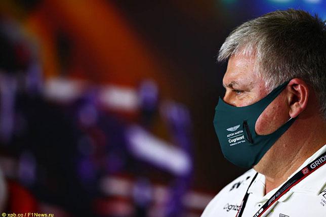 Отмар Сафнауэр, руководитель команды Aston Martin