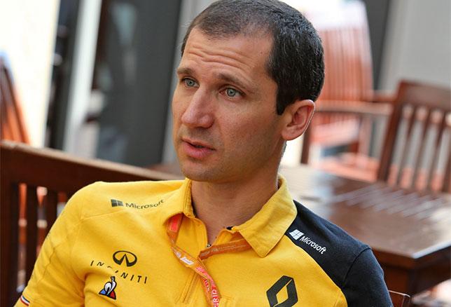 Реми Таффен, главный моторист Renault