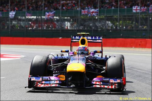 Марк Уэббер на Гран При Великобритании