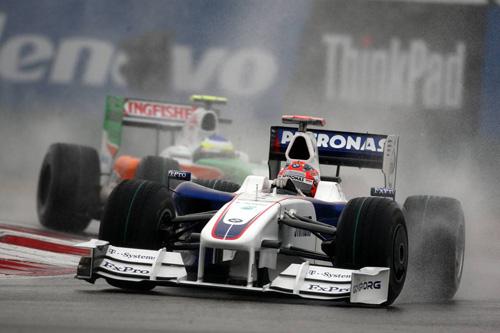 Гран При Китая. Роберт Кубица и Джанкарло Физикелла