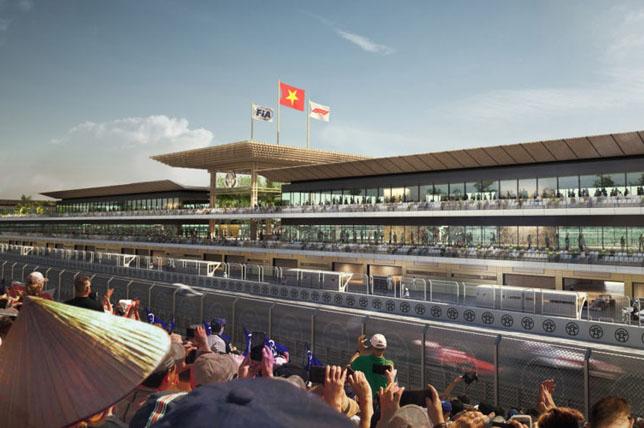 视频:大奖赛赛道圈越南