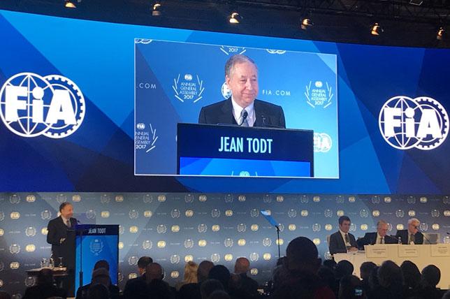 Жан Тодт избран натретий срок президентом ФИА