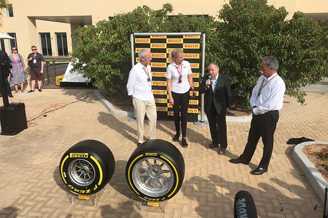 Официальная церемония объявления контракта с Pirelli