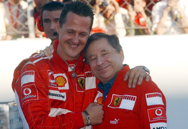 Михаэль Шумахер и Жан Тодт, Гран При Италии 2006 года
