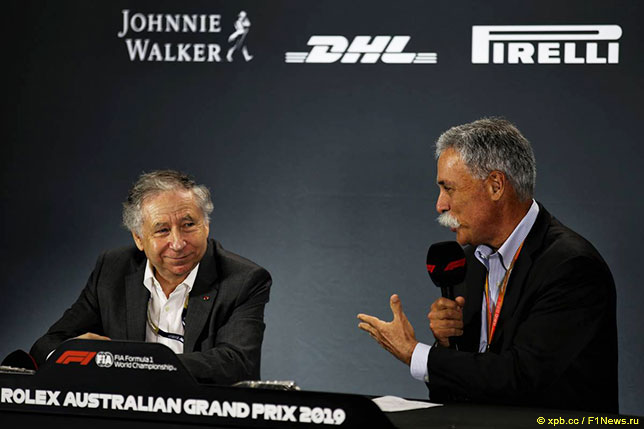 Жан Тодт и Чейз Кэри на пресс-конференции в Мельбурне