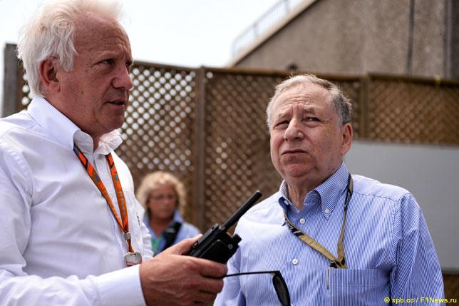 Чарли Уайтин и Жан Тодт на прошлогоднем Гран При Канады