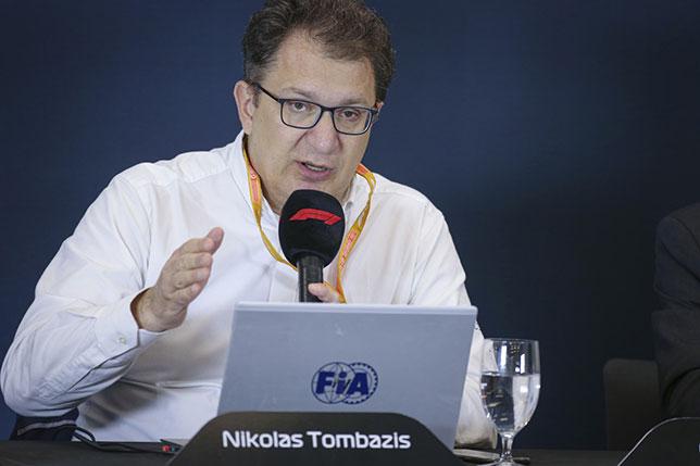 Николас Томбасис, технический директор FIA