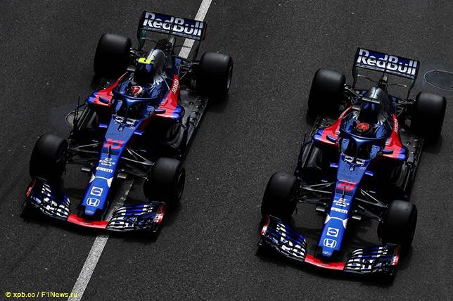 Машины команды Toro Rosso