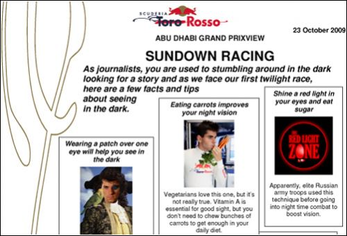 Превью Гран При Абу-Даби от Toro Rosso