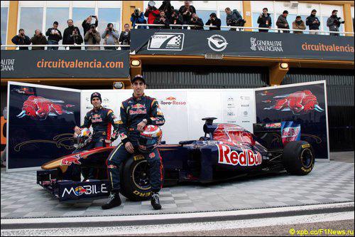 Презентация Toro Rosso STR6