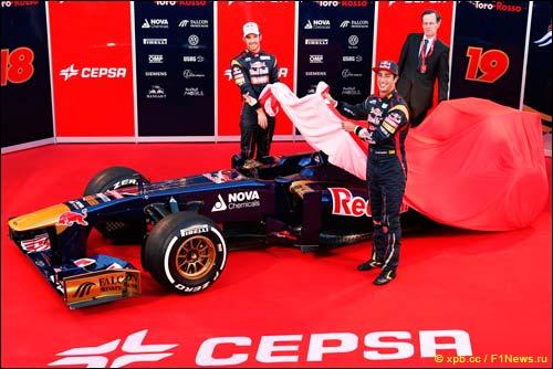 Презентация Scuderia Toro Rosso