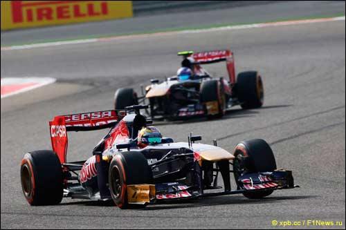 Гонщики Scuderia Toro Rosso
