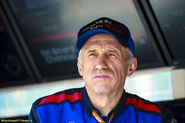 Франц Тост, руководитель команды Toro Rosso