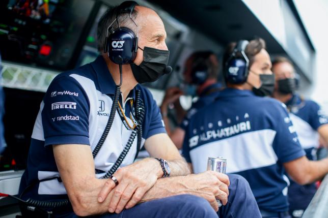 Франц Тост, фото пресс-службы Red Bull