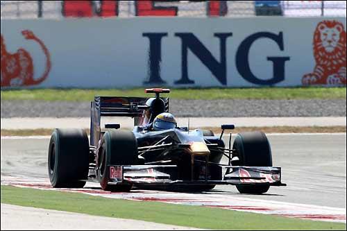 Себастьен Бурдэ на трассе Гран При Турции