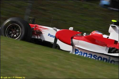 Тимо Глок на трассе Гран При Японии