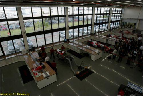 База Toyota в Кёльне