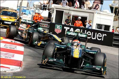 Гонщики Team Lotus