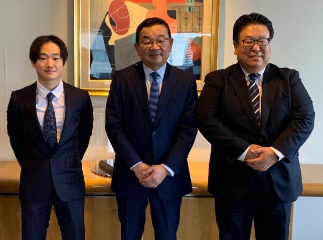 Юки Цунода, Такахиро Хачиго и Сейджи Курайши, фото из Instagram гонщика