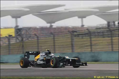 Гидо ван дер Гарде на Гран При Китая