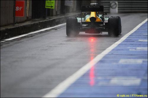 Шарль Пик на Гран При Великобритании