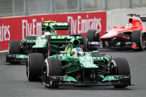 Гран При Кореи: гонщики Caterham