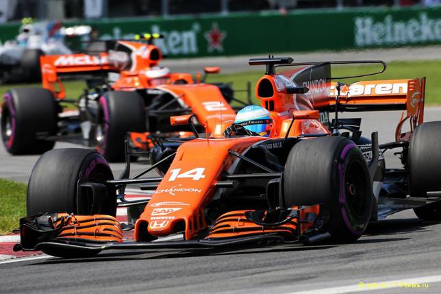 Гран При Канады. Гонщики McLaren