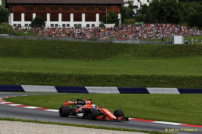 Гран При Австрии. Фернандо Алонсо