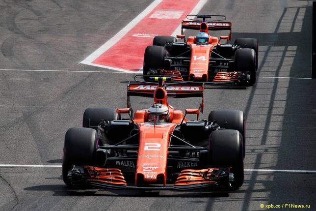 Гран При Бельгии. Гонщики McLaren