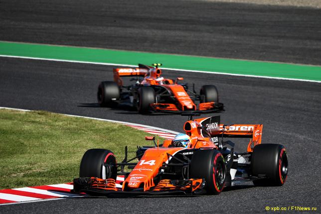 Гран При Японии. Гонщики McLaren