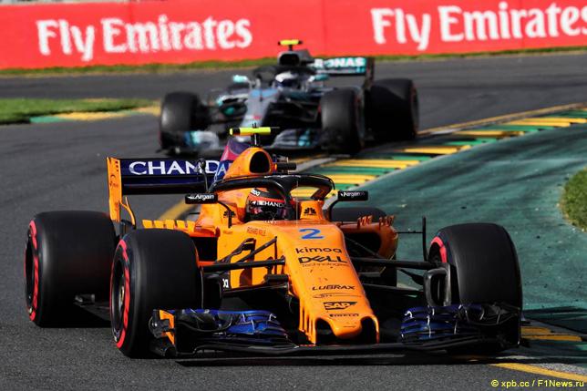 Гран При Австралии. Стоффель Вандорн