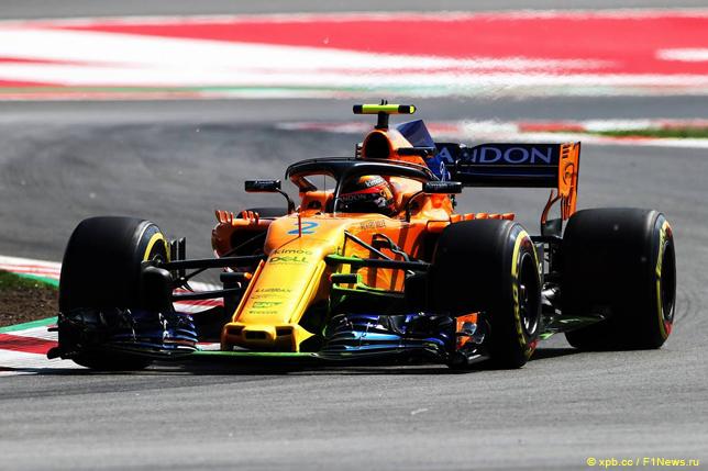 Гран При Испании. Стоффель Вандорн