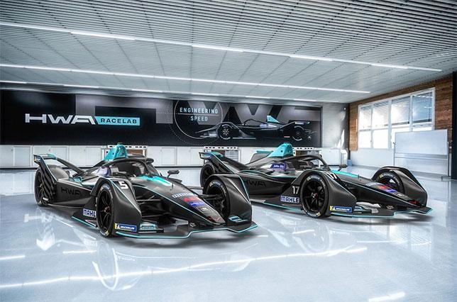 Машины команды HWA Racelab
